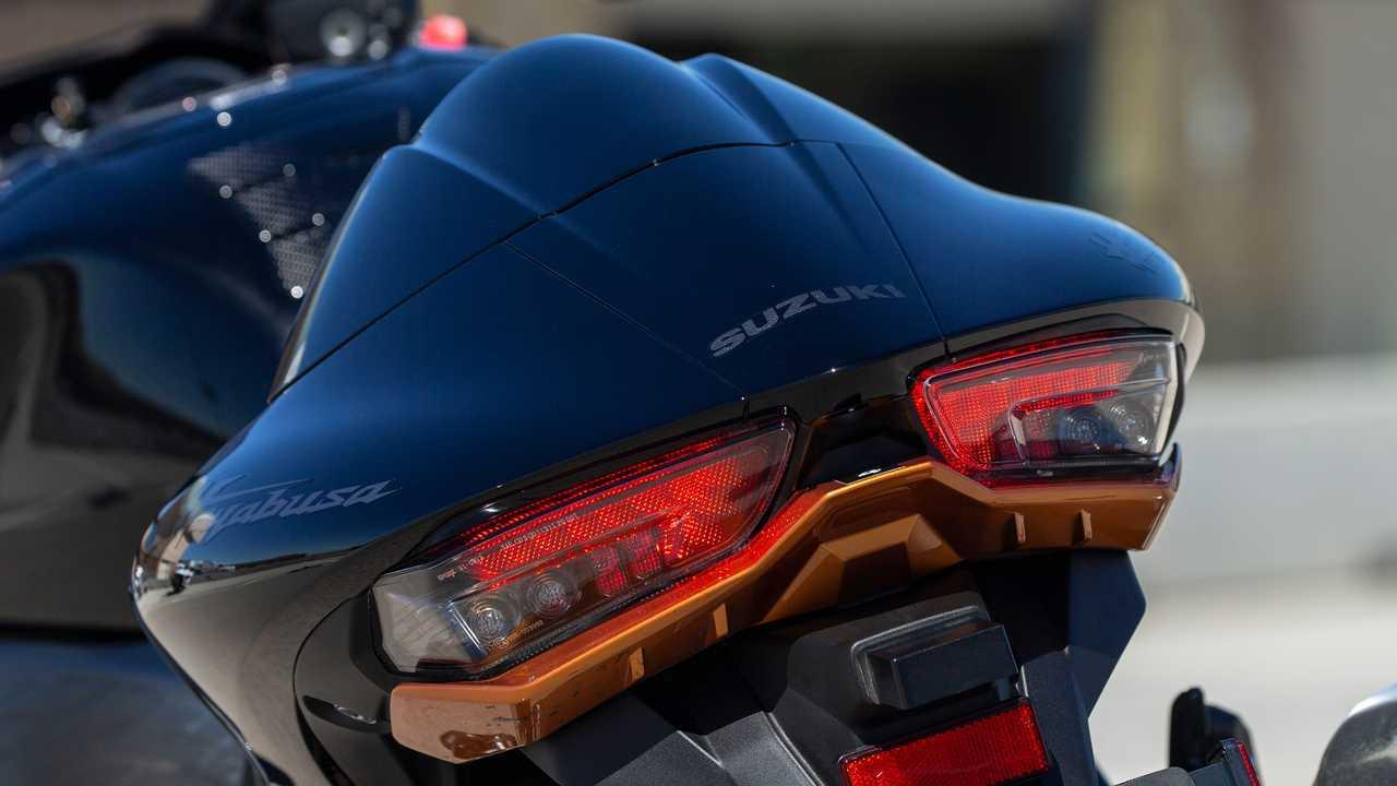 2022 Suzuki Hayabusa Tail Detail