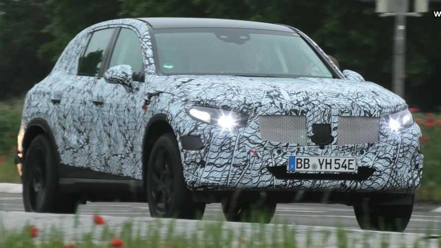 Yeni Mercedes GLC trafikte görüntülendi
