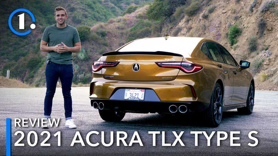 2022 Acura TLX Type S Video Review: Back In The Groove