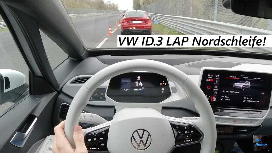 Watch A Brisk Volkswagen ID.3 POV Nurburgring Drive