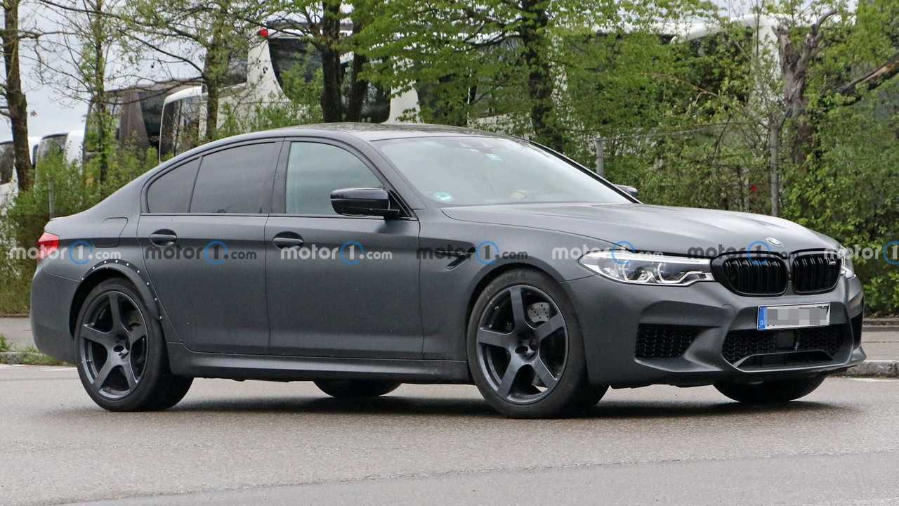 BMW M5 With Wider Rear Track