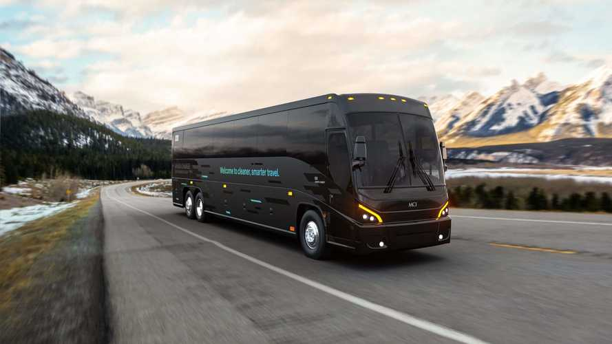 MCI Unveils J4500 CHARGE Luxury Electric Coach