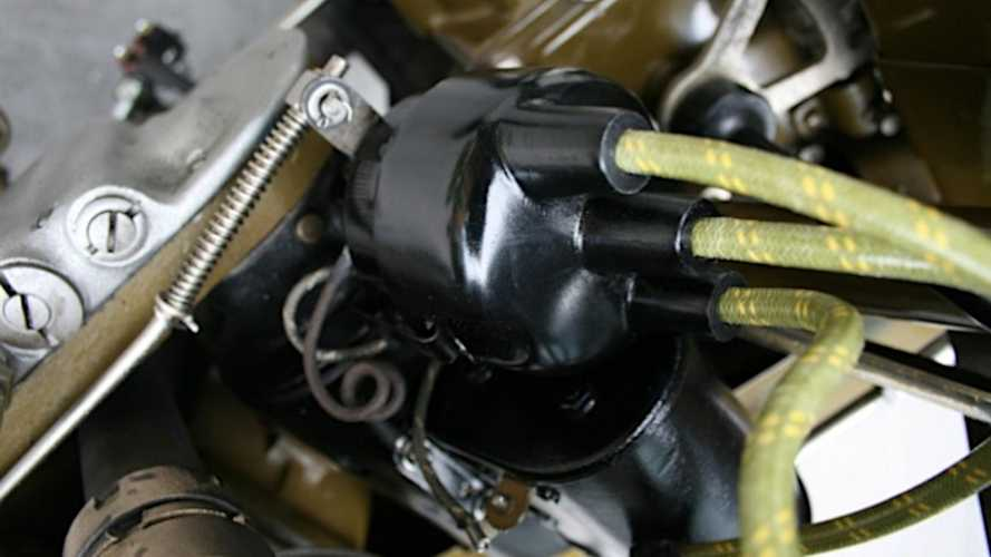 1919 Harley-Davidson with 3D Printed Distributor Cap