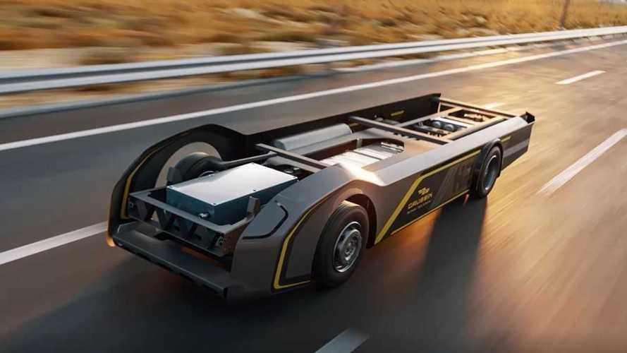 Gaussin Develops Next-Gen Skateboard Truck Platform