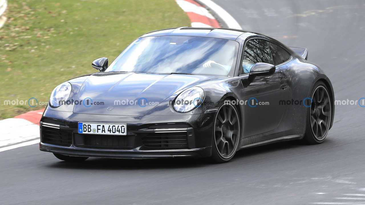 Nuova Porsche 911 Sport Classic, le foto spia al Nurburgring