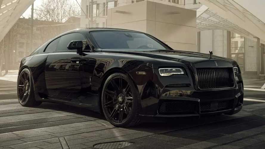 Rolls-Royce Black Badge Wraith By Spofec