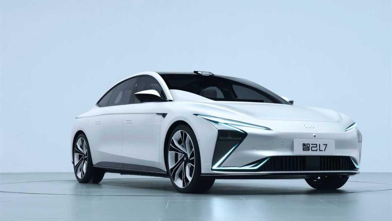 Zhiji L7 2021, una berlina eléctrica china
