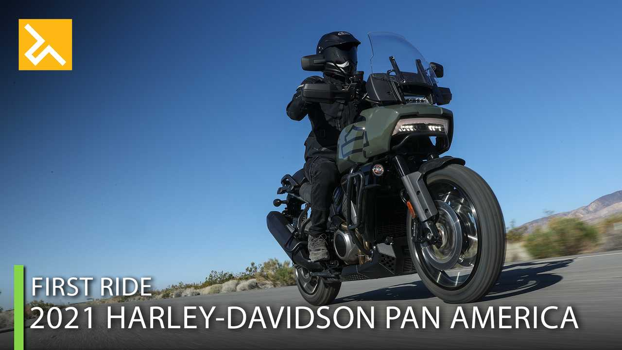 2021 Harley-Davidson Pan America First Ride Feature