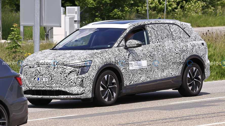 Audi'nin devasa elektrikli SUV'si, dikkatleri üzerine çekecek