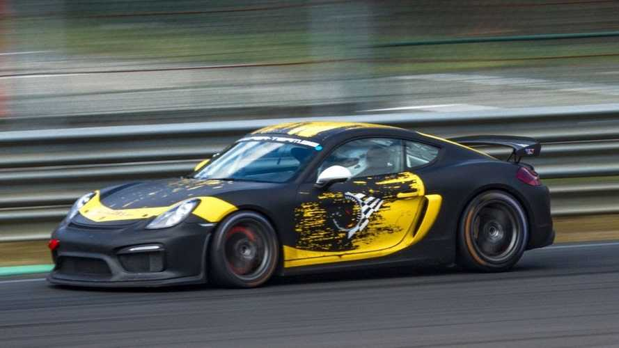 Porsche Cayman GT4 Clubsport Sounds Glorious At The Race Track