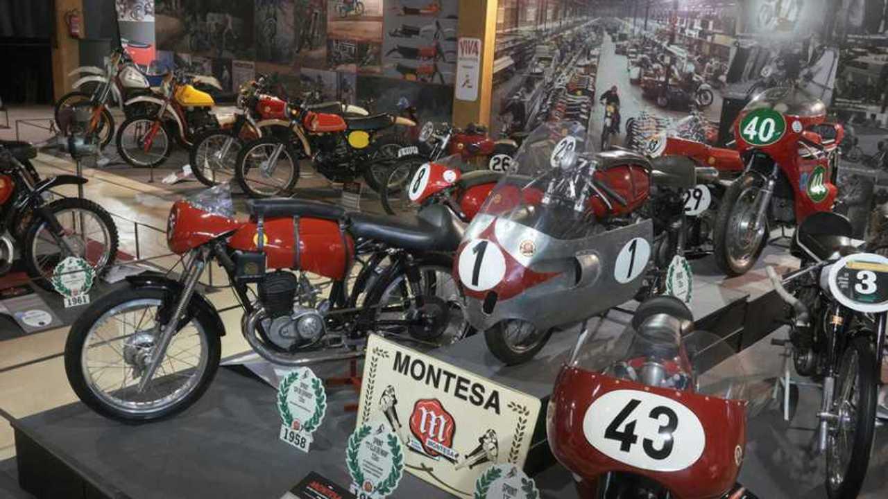 Basella Motorcycle Museum Montesa 75th Anniversary