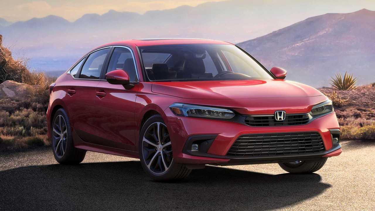 Honda Civic Limousine (2022) für Nordamerika