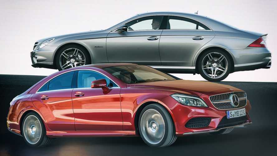 Diaporama - L'histoire de la Mercedes-Benz CLS
