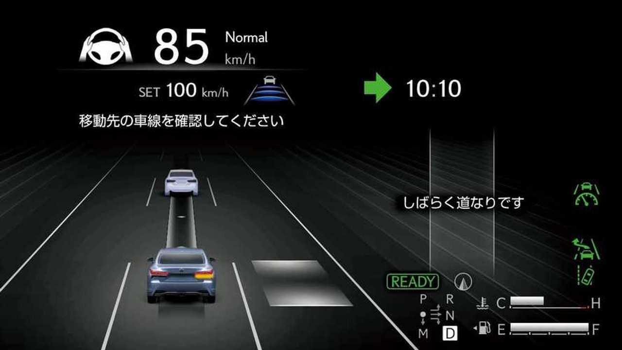 Lexus LS ve Toyota Mirai Advanced Drive Özelliğine Kavuştu