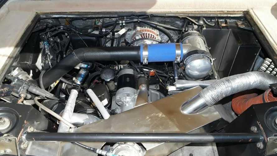 Renault 5 Turbo 2 avec un moteur Mazda