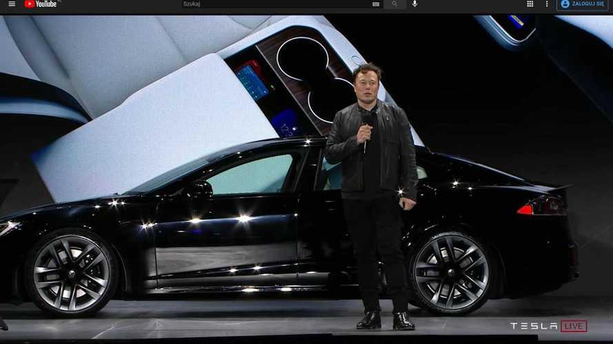 Tesla Model S Plaid'in tanıtım etkinliğinin özetini izleyin!
