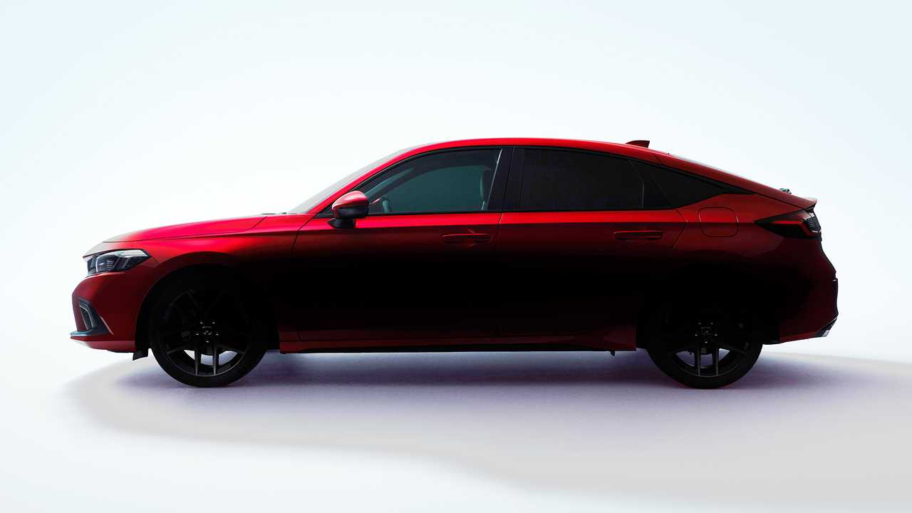 Nuova Honda Civic hatchback, il teaser