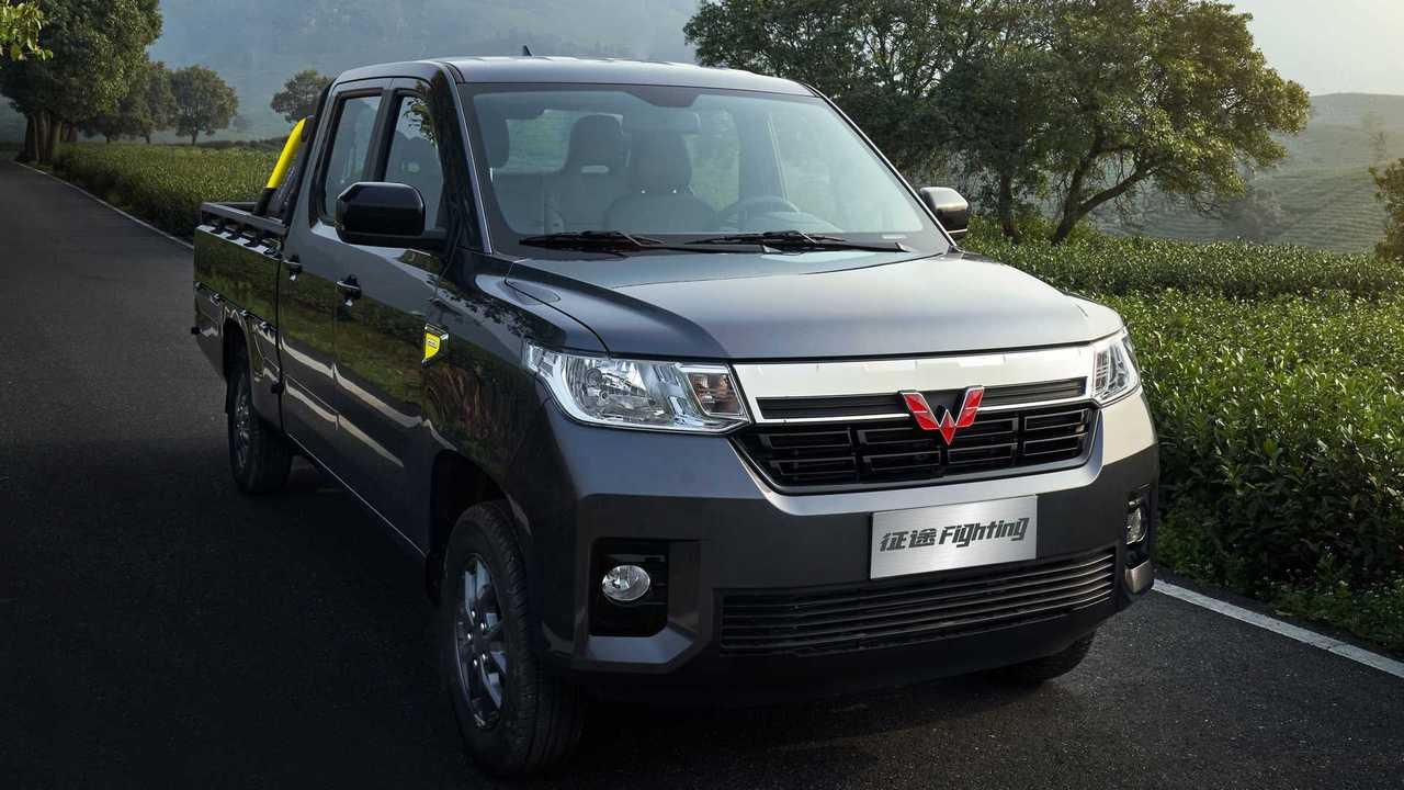 Wuling Zhengtu Pickup, un vehículo comercial de GM para China