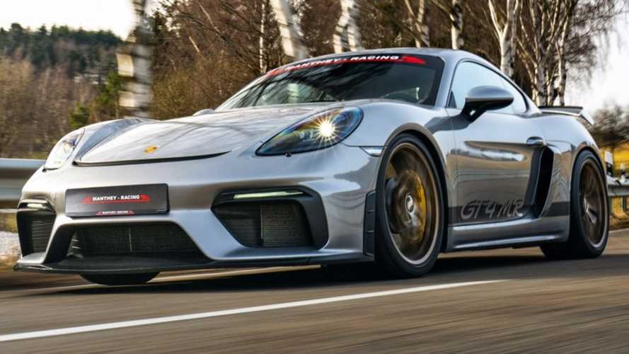 Porsche 718 Cayman GT4 MR By Manthey Racing Is Ready For The Track