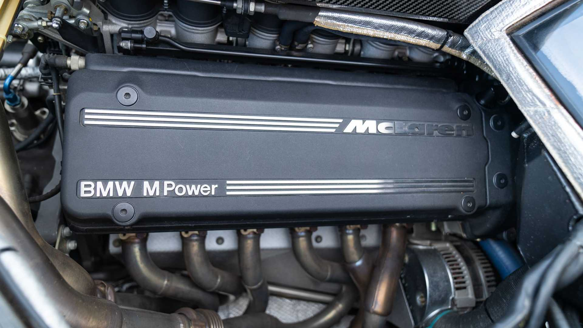 1995 McLaren F1 Gooding And Company Auction 2020 Engine
