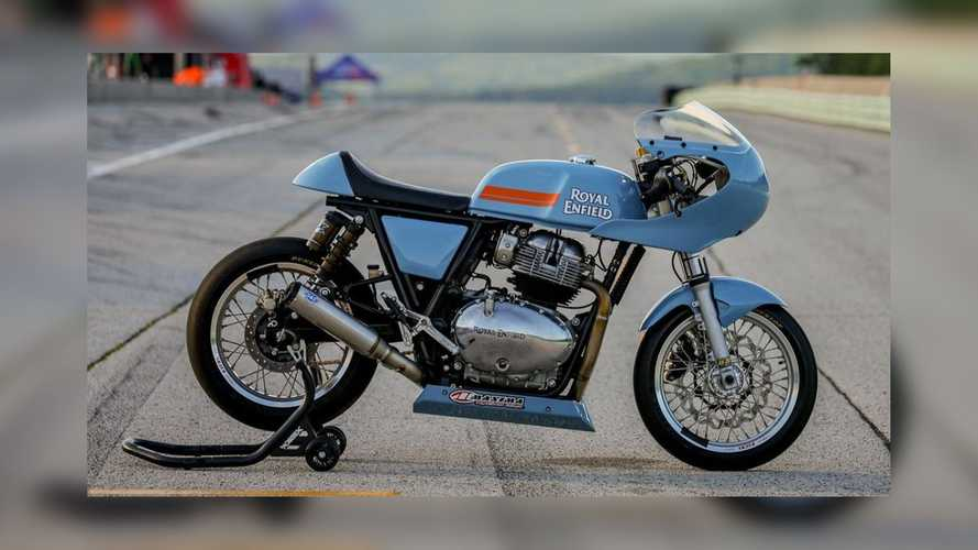 Here Are Royal Enfield's 2021 Build Train Race Road Race Bikes