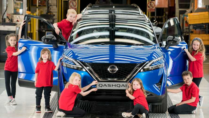 Nissan Sunderland aims to inspire kids as Qashqai production begins