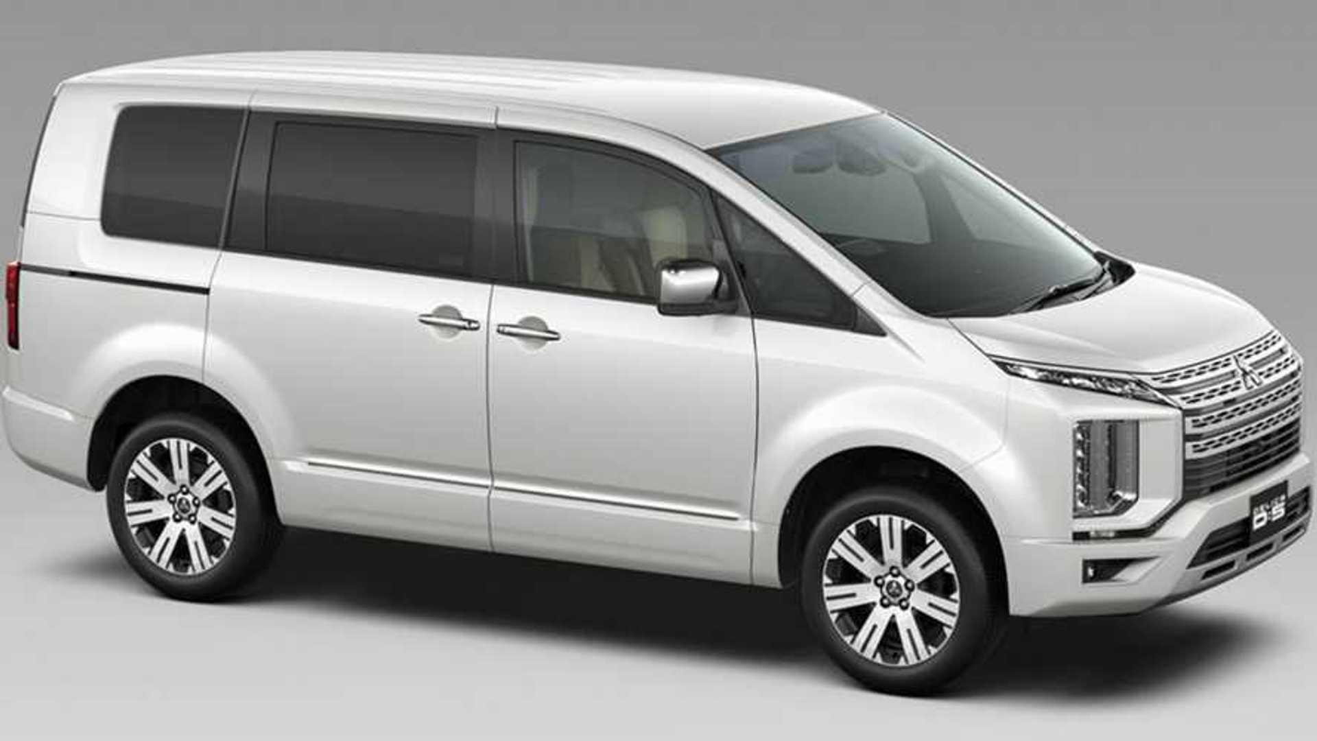 New Mitsubishi D 5 Delica Is A Pure Suv Antidote