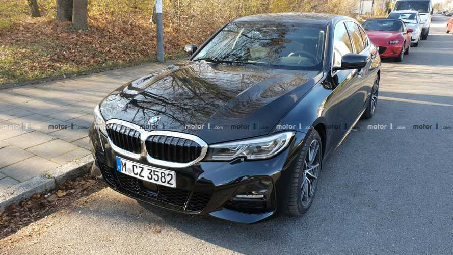 2019 BMW 3 Series spotted on the street before you should see it