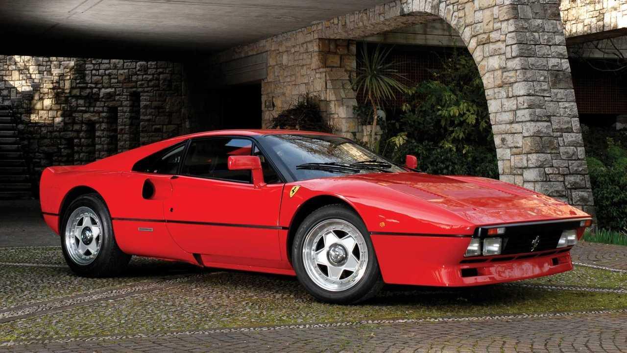 Ferrari 288 GTO, le foto storiche