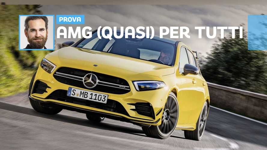 Mercedes-AMG A 35, 306 CV su strada possono bastare