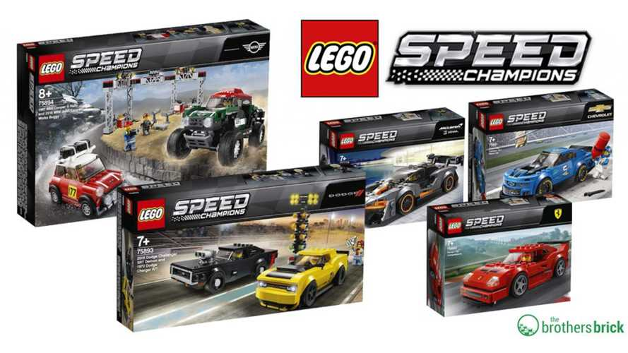 2019 Lego Speed Champions Sets Include Senna, F40, And Demon