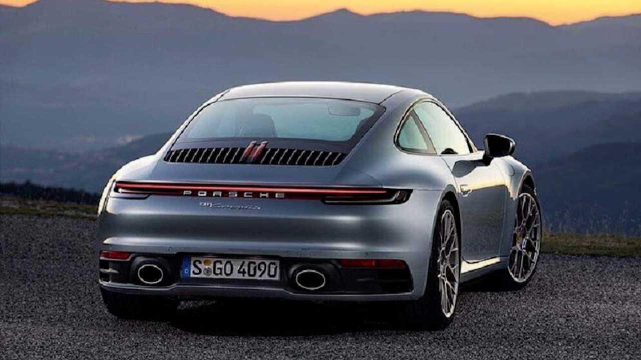 2020 Porsche 911 Leaked