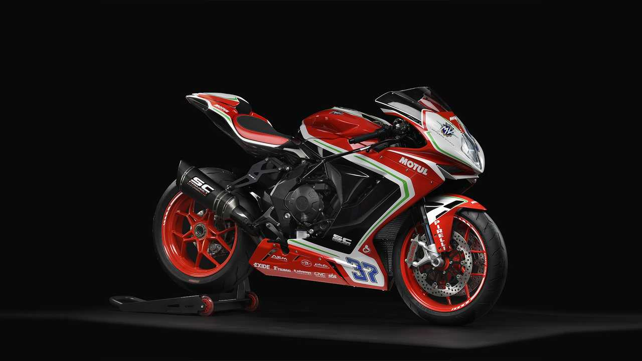 2018 MV Agusta Brutale Dragster and F3