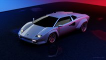 Lamborghini Countach render by Jimmy Nahlous