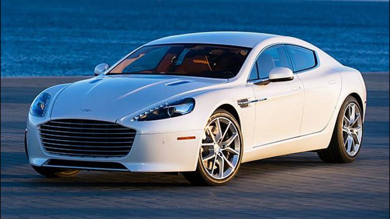 [Copertina] - Aston Martin Rapide, elettrica nel 2017