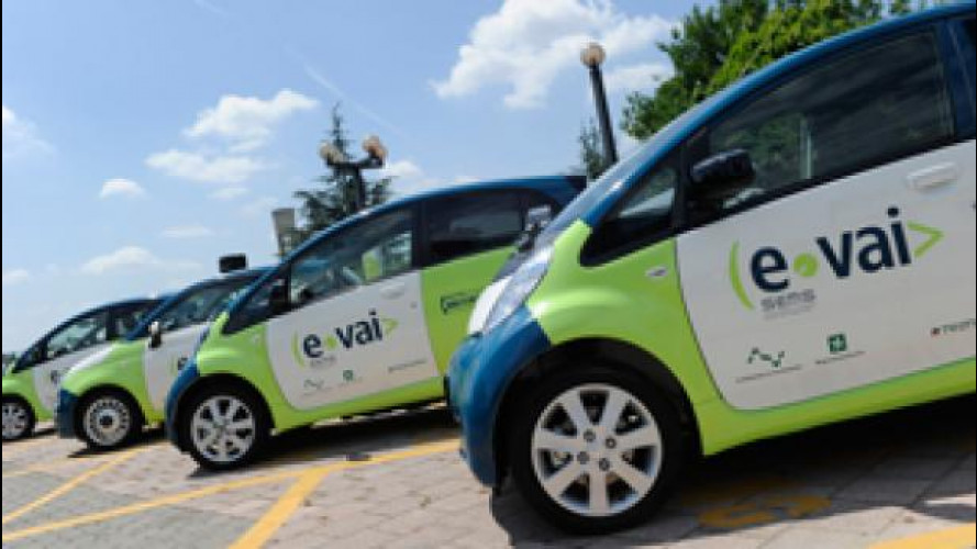 e-vai, il car sharing