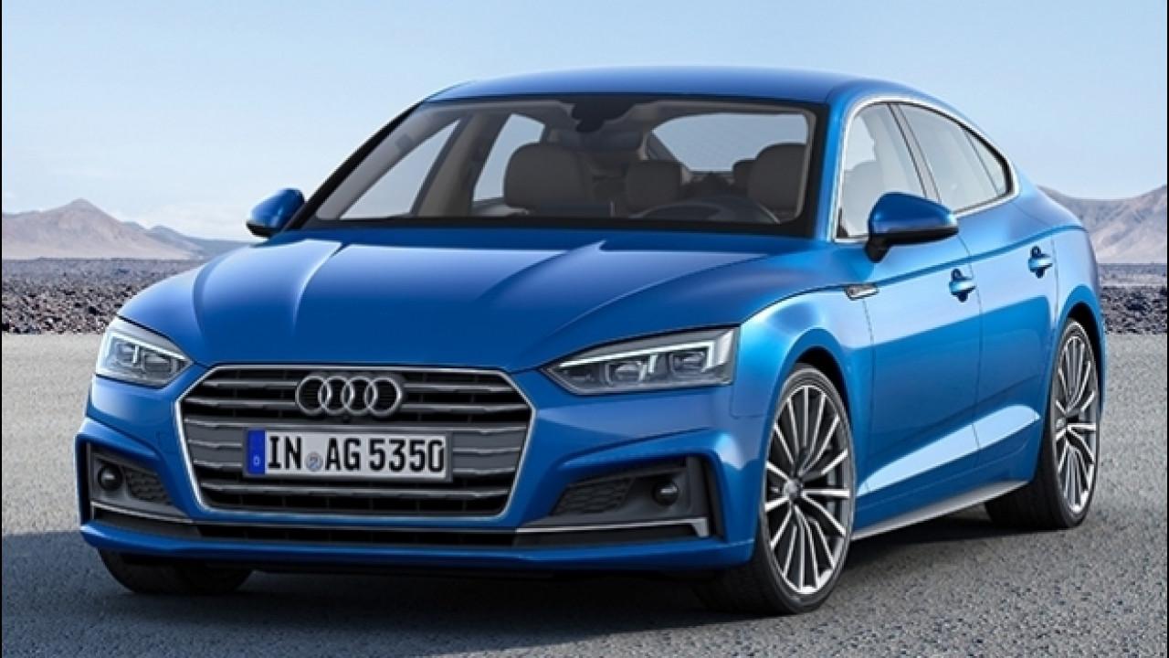 [Copertina] - Audi A5 Sportback g-tron, il massimo del metano