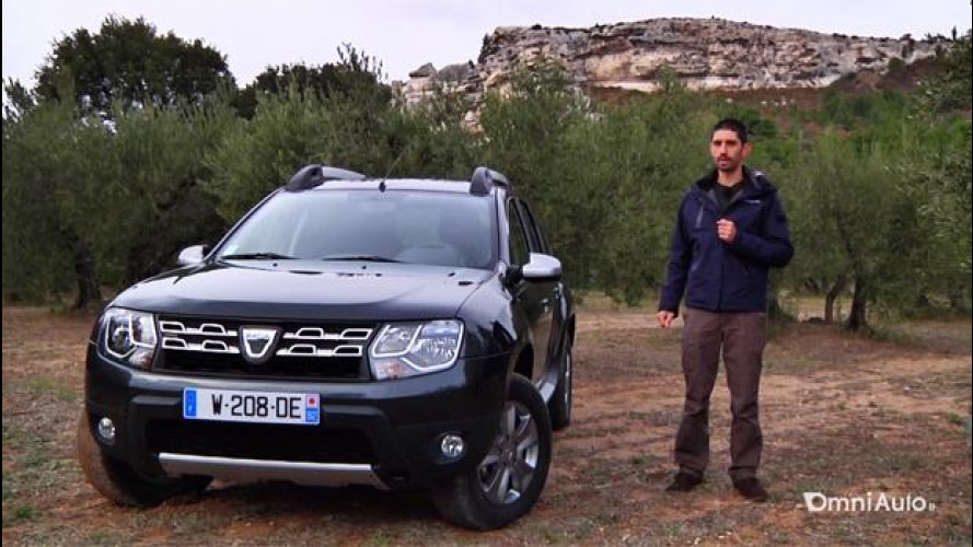 Dacia Duster restyling, prova su strada [VIDEO]