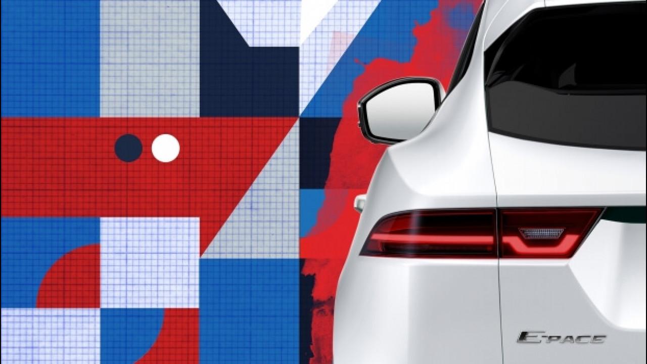 [Copertina] - Jaguar E-Pace, il primo teaser del SUV compatto sportivo