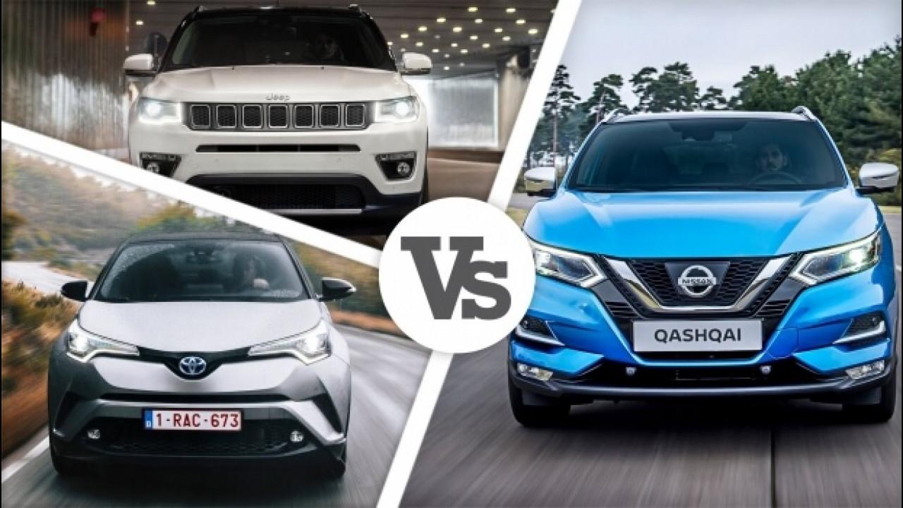 [Copertina] - Nissan Qashqai restyling, la sfida alle concorrenti inizia così