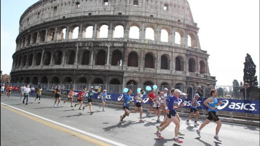 Blocco del Traffico e Maratona a Roma, come muoversi il 10 aprile