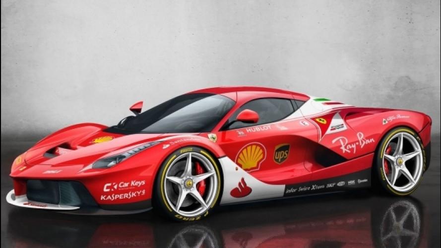 """10 supercar stradali """"vestite"""" da Formula 1"""