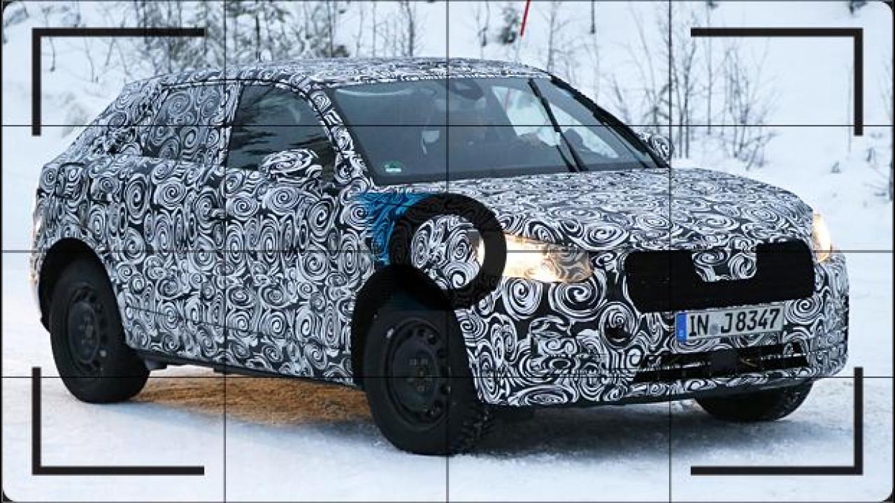 [Copertina] - Audi Q2, prime foto spia del SUV compatto