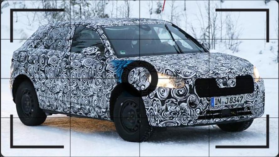Audi Q2, prime foto spia del SUV compatto