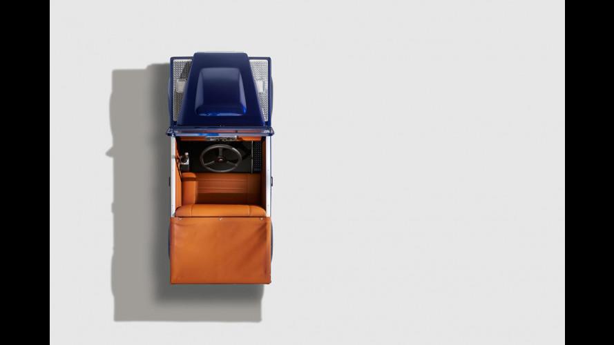 Salone di Francoforte, il Land Rover Defender a pedali costa 14.000 euro