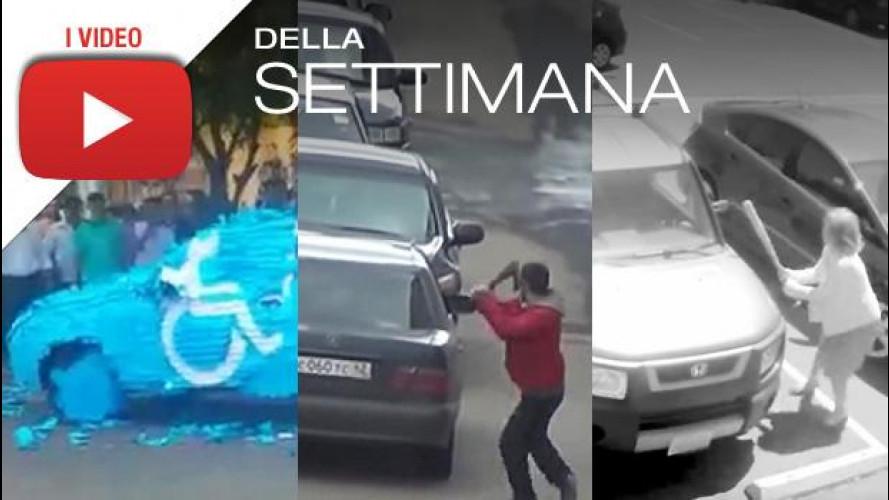 Video divertenti: se il parcheggio rubato merita una vendetta