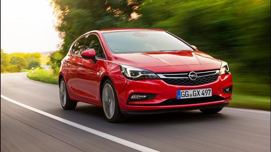 Opel Astra, generazione K con pochi Kg