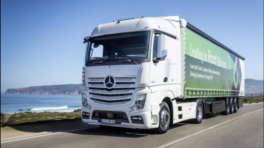 Mercedes, la tecnologia passa dal camion alle auto
