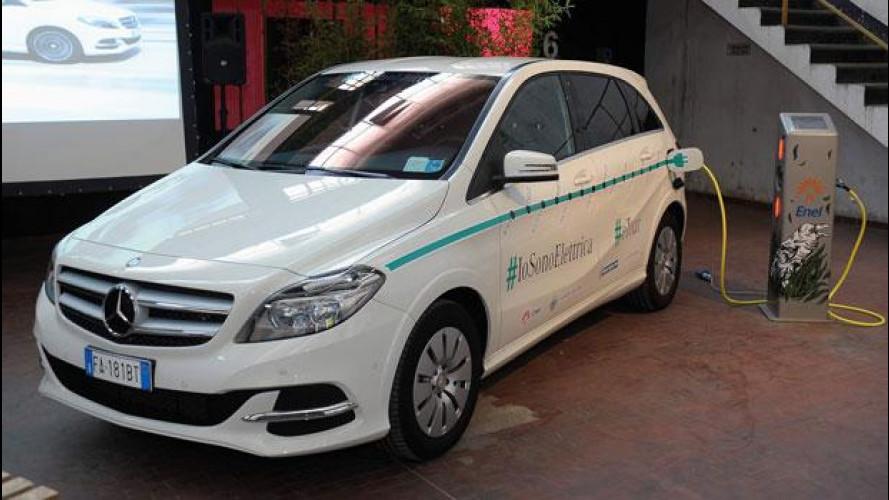 Auto elettrica, Mercedes inaugura l'eTour #IoSonoElettrica