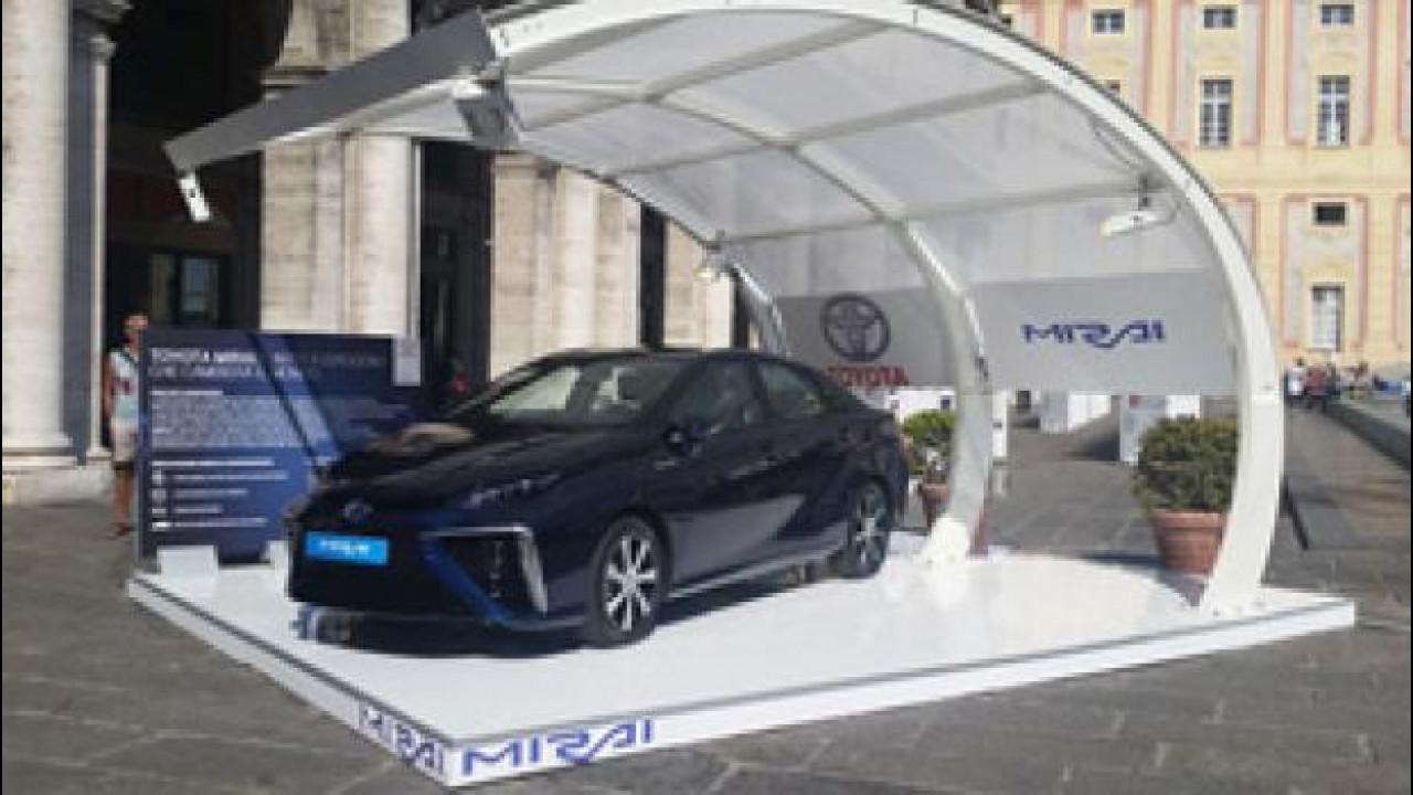 [Copertina] - Toyota Mirai arriva in Italia, ma per poco